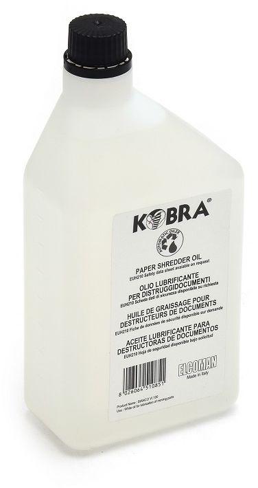 Olej do niszczarek KOBRA - butelka 1 litr