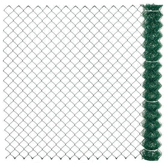 Siatka ogrodzeniowa Polargos 1,5 x 10 m pleciona fi 2,4 mm zielona