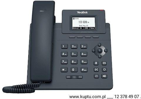 Yealink SIP-T30 przewodowy telefon IP