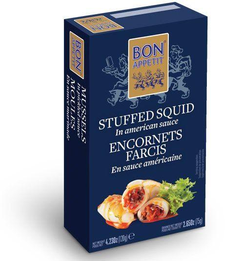 Kalmary portugalskie faszerowane 120g Bon Appetit