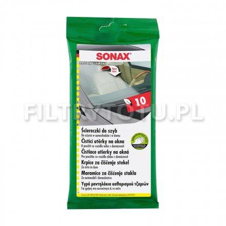 SONAX Ściereczki do szyb 10 szt. (415000)