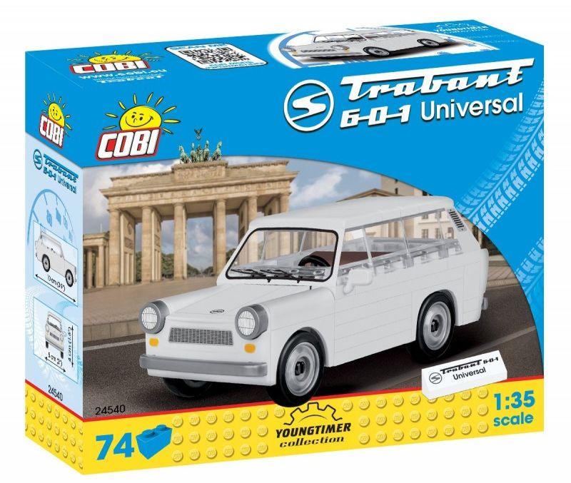 Klocki Youngtimer Collection - Trabant 601 Universal