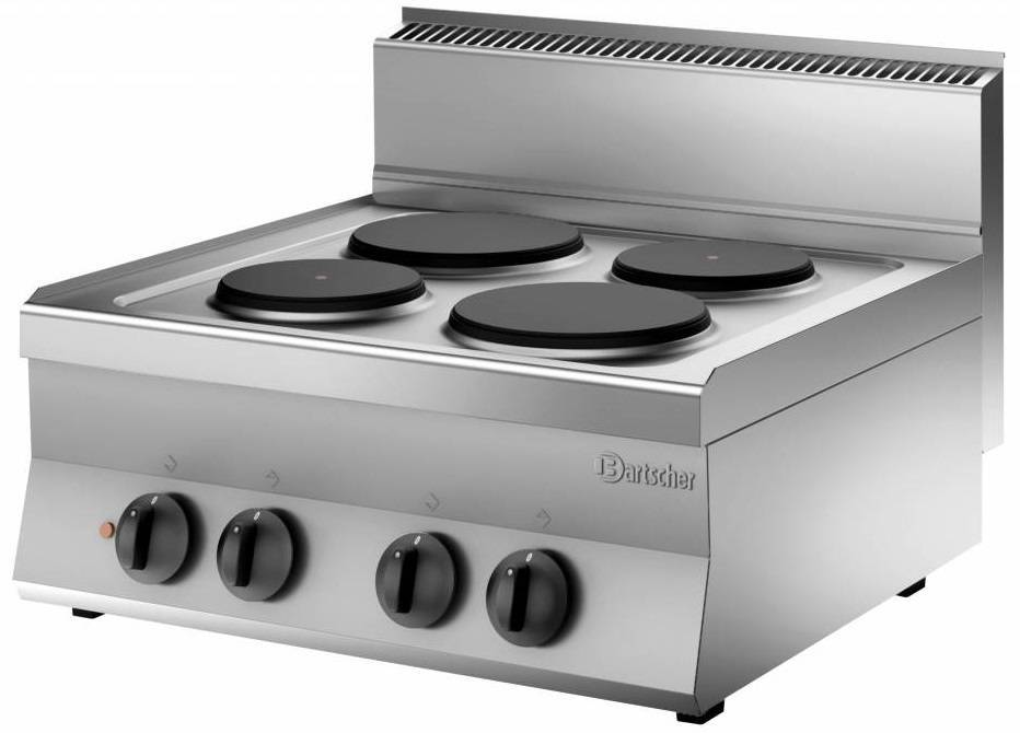 Bartscher Kuchnia elektryczna nastawna 4 płytowa 8200W - kod 115007