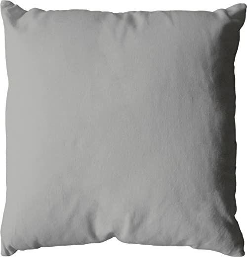 Poduszka, bawełna, 60 x 60 cm, 350 g, szara, 60 x 60