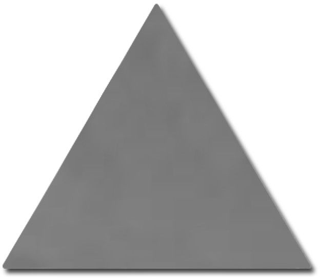 Scale Triangolo Dark Grey 10,8x12,4