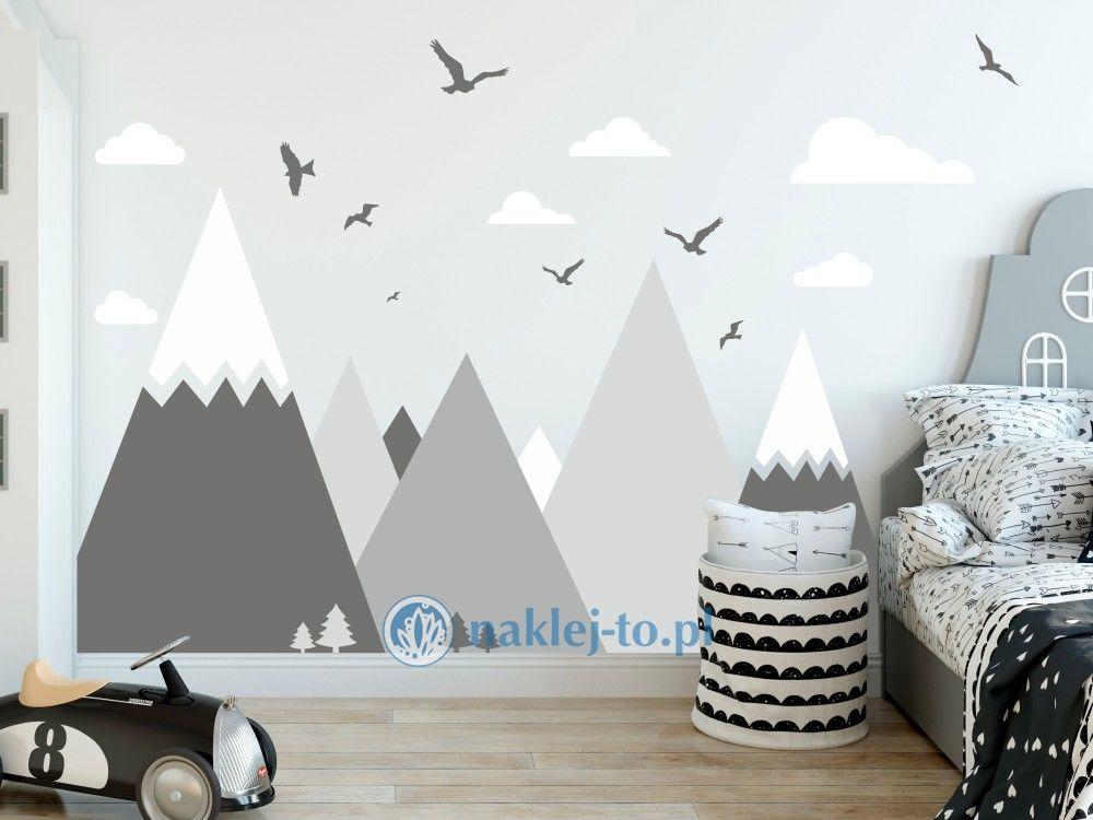 naklejka góry w zestawie naklejka na ścianę zestaw