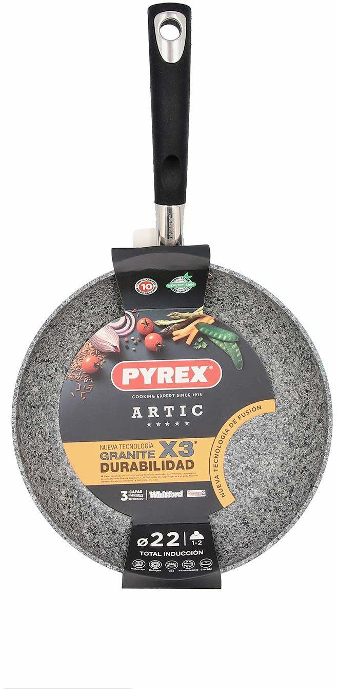 Patelnia 30 cm aluminium zadrukowana smak Pyrex