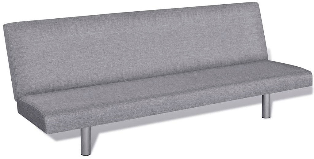 Tapicerowana sofa rozkładana Melwin 3X  jasnoszara