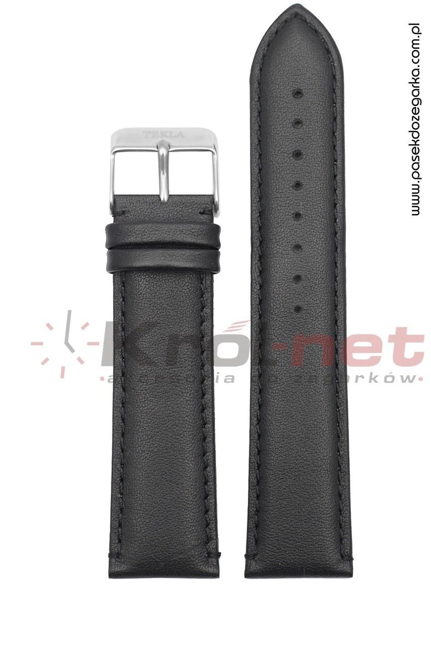 Pasek Tekla TK109/24XL - czarny, gładki