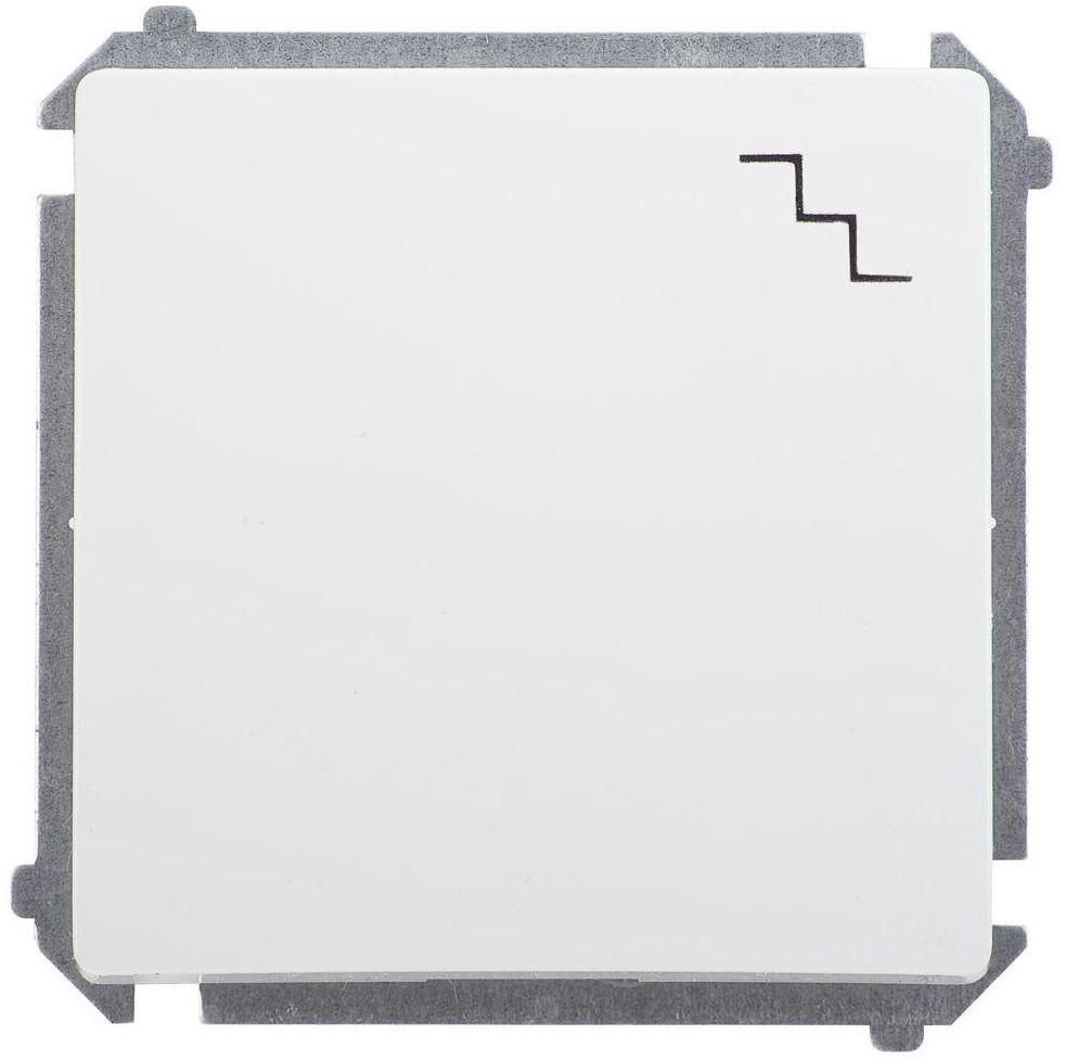 Włącznik schodowy BASIC Biały SIMON