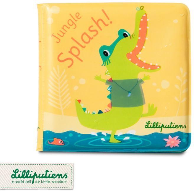 Magiczna książeczka do kąpieli Krokodyl Anatol 83092-Lilliputiens