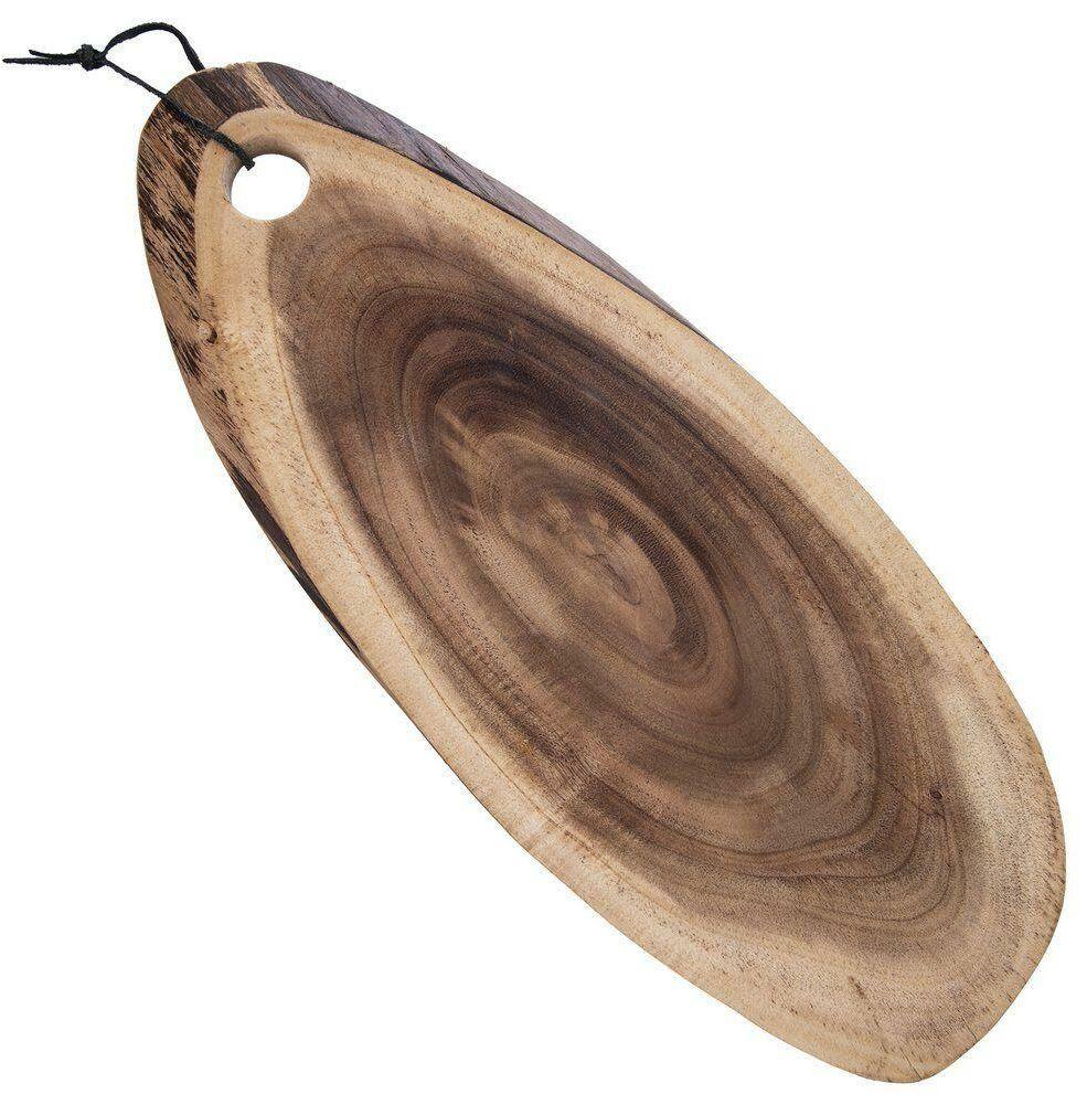 Deska do krojenia serwowania talerz drewniany taca