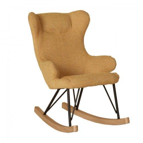Fotel bujany QUAX dla dzieci De Luxe Saffran