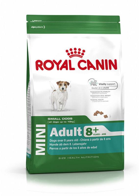 ROYAL CANIN Mini Adult 8+ 800g karma sucha dla psów starszych od 8 do 12 roku życia, ras małych