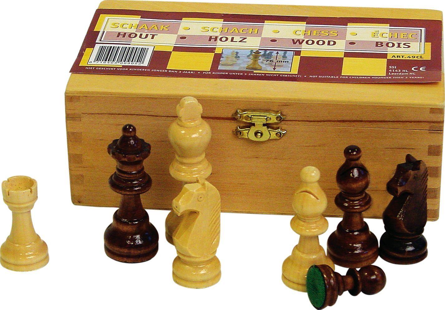 Figury pionki szachowe Abbey 87mm