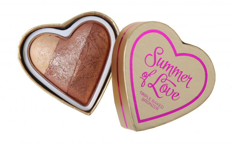 I Heart Revolution - Summer of Love Triple Baked Bronzer - Bronzer - HOT SUMMER OF LOVE