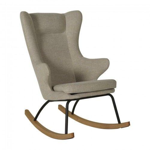 Fotel bujany QUAX dla dorosłych De Luxe Clay
