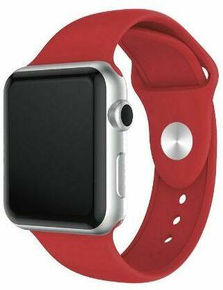 Xqisit pasek do Apple Watch 42 mm (czerwony)