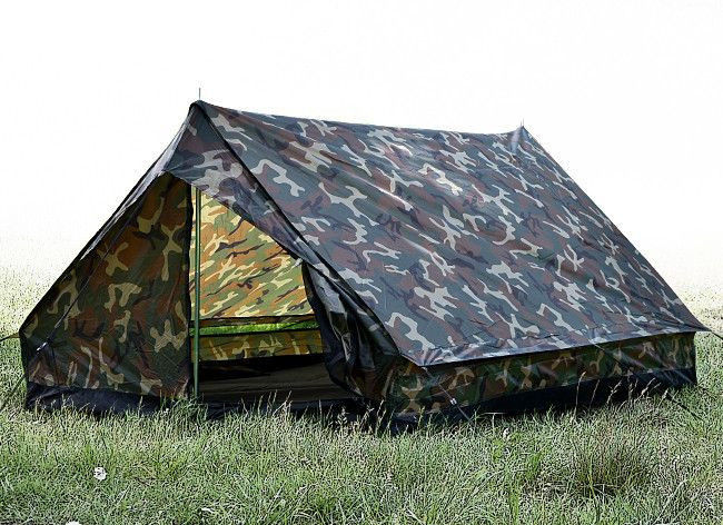 Mil-Tec Namiot 2 Osobowy Mini Pack Standard Woodland