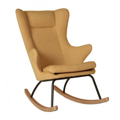 Fotel bujany QUAX dla dorosłych De Luxe Saffran