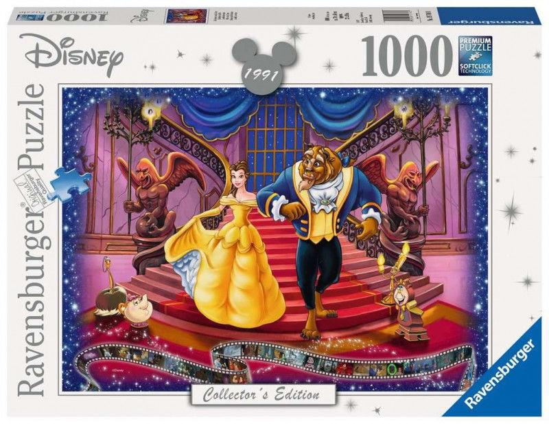 Puzzle 1000 elementów Walt Disney Piękna i Bestia (GXP-761230)
