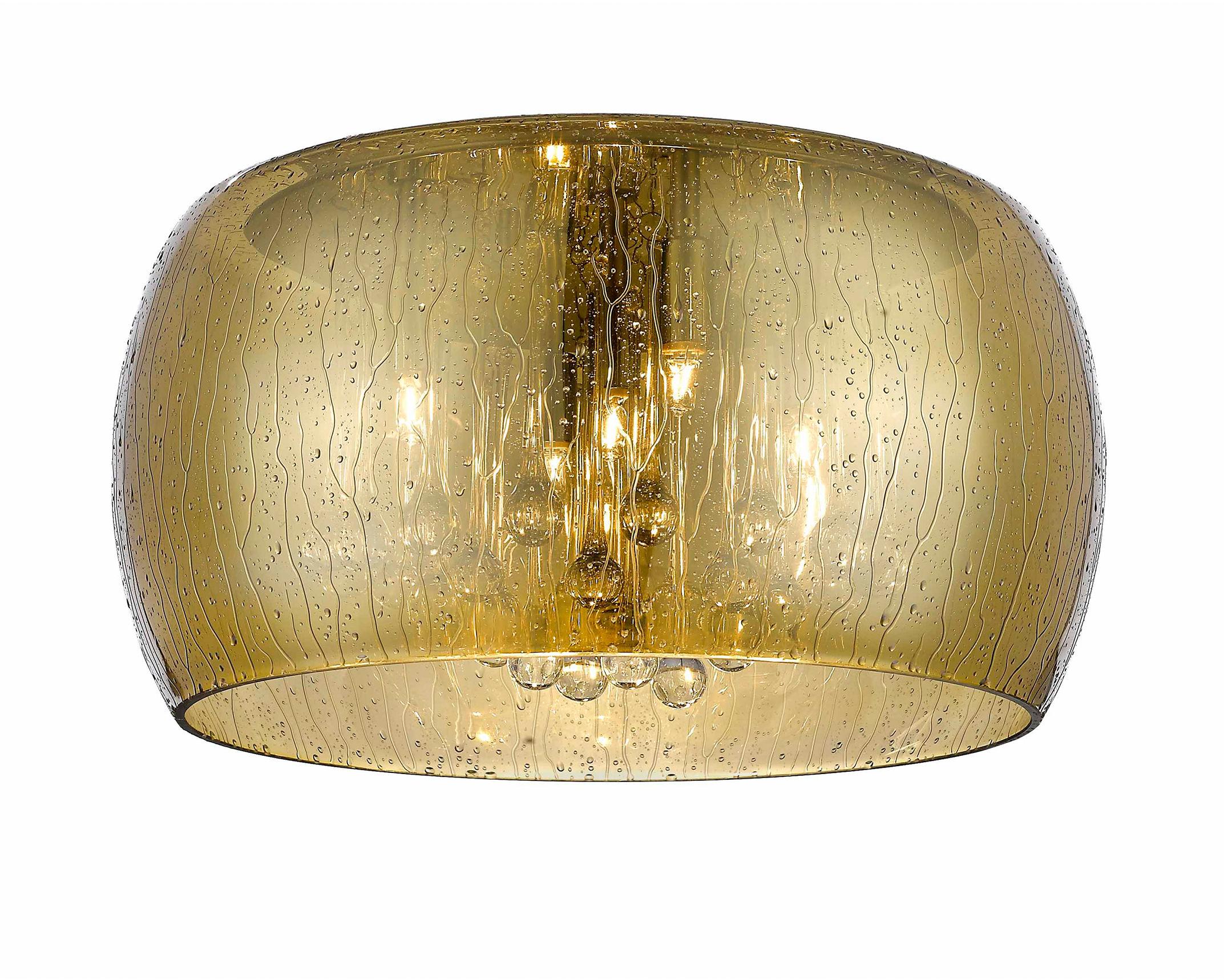 C0076-05L-F4L9 RAIN LAMPA SUFITOWA ZŁOTA/GOLD