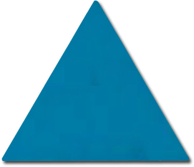 Scale Triangolo Electric Blue 10,8x12,4