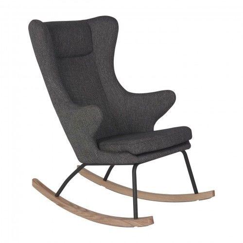 Fotel bujany QUAX dla dorosłych De Luxe Czarny
