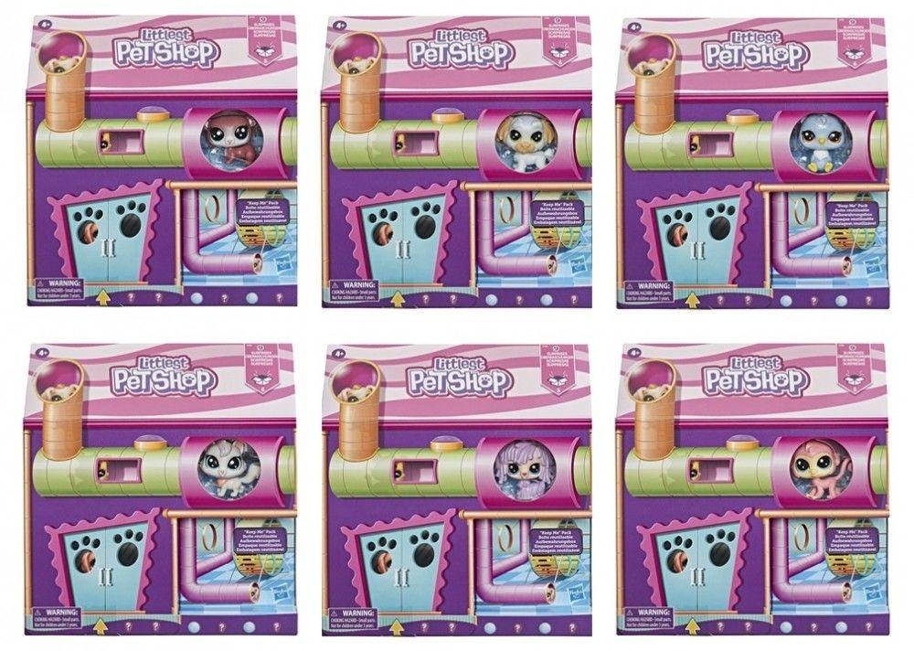 Littlest Pet Shop - Domek zabaw zwierzaków + akcesoria E7434