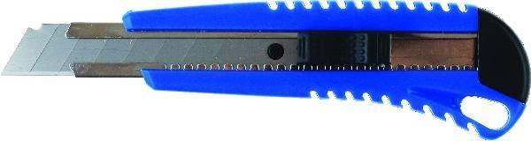 Nóż do tapet 18 MM GRAND z blokadą i prowadnicą GR-84 - X02360