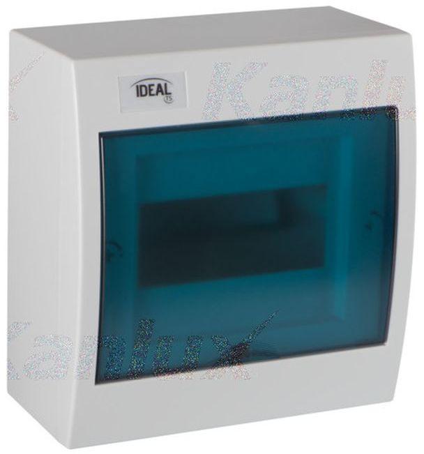 Rozdzielnica modułowa 1x6 natynkowa N+PE IP30 IK07 KDB-S06T 23610
