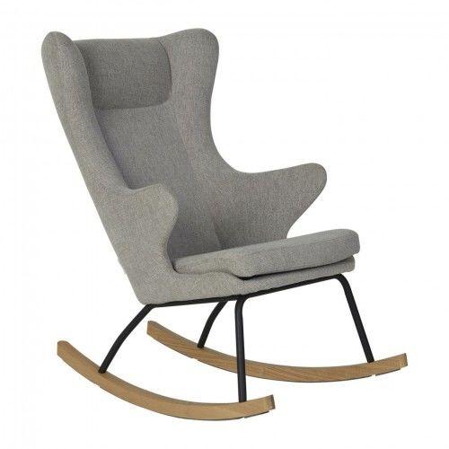 Fotel bujany QUAX dla dorosłych De Luxe Sand Grey