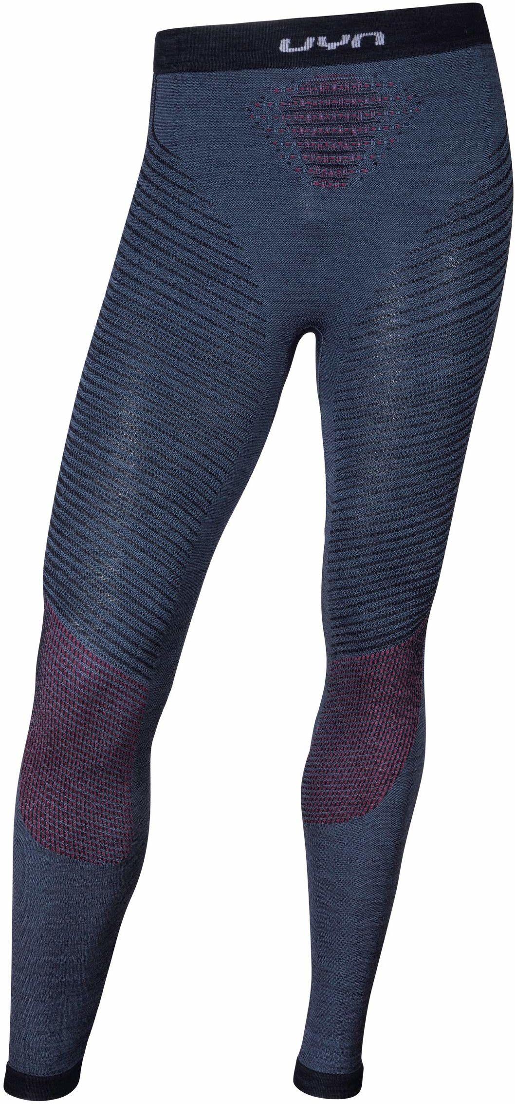 UYN męskie bokserki funkcyjne Fusyon Uw Long Orion Blue/Bordeaux/Pearl Grey, S/M