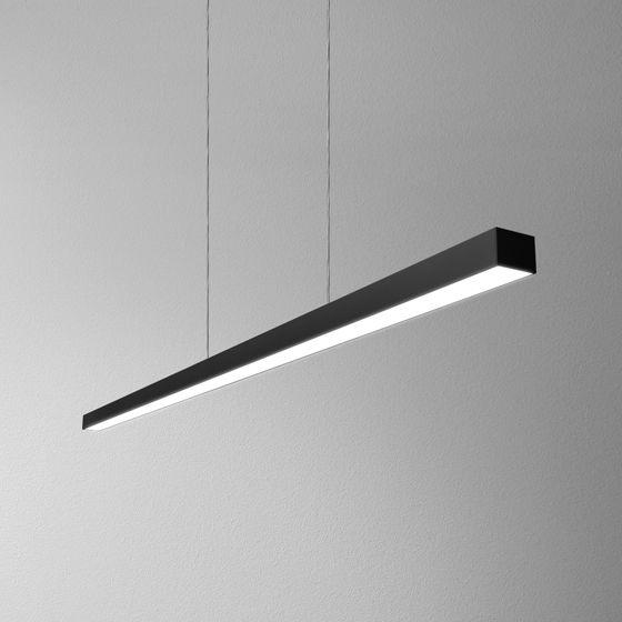 Lampa wisząca SET RAW mini LED 4000K AQform podłużna oprawa w nowoczesnym stylu