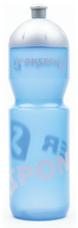 SPONSER bidon rowerowy FARBIG 750 ml blue transparent,5907558624588