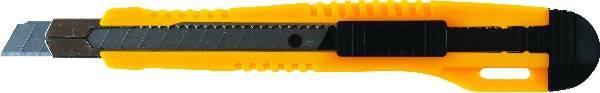 Nóż do tapet 9 mm GRAND z blokadą i prowadnicą GR-98 - X02359