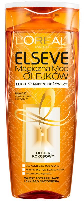 L''Oréal - ELSEVE - Moc olejków - Lekki szampon odżywczy