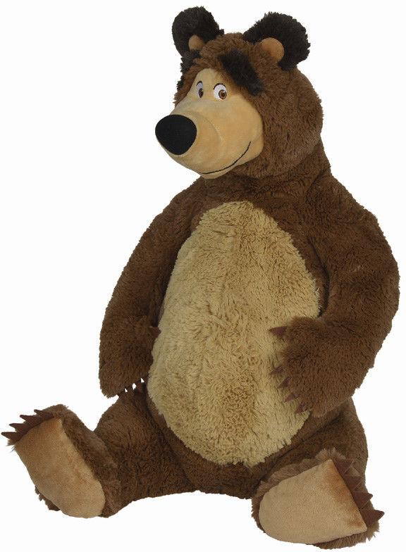 Masza i Niedźwiedź - Pluszowy Niedźwiedź Misza 50cm 9309894