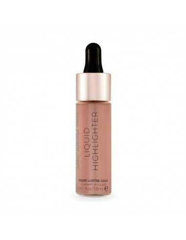 Makeup Revolution Liquid Highlighter Liquid Lustre Gold płynny rozświetlacz do twarzy