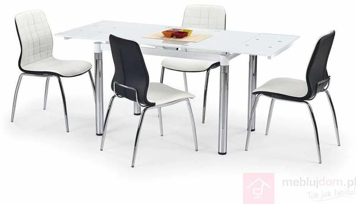 Stół L-31 Halmar Biały, 74x110-170 cm