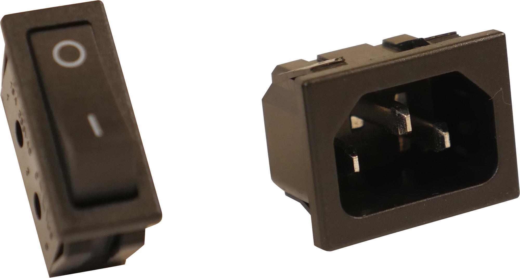 Przełącznik I Gniazdo Zasilania Do El900