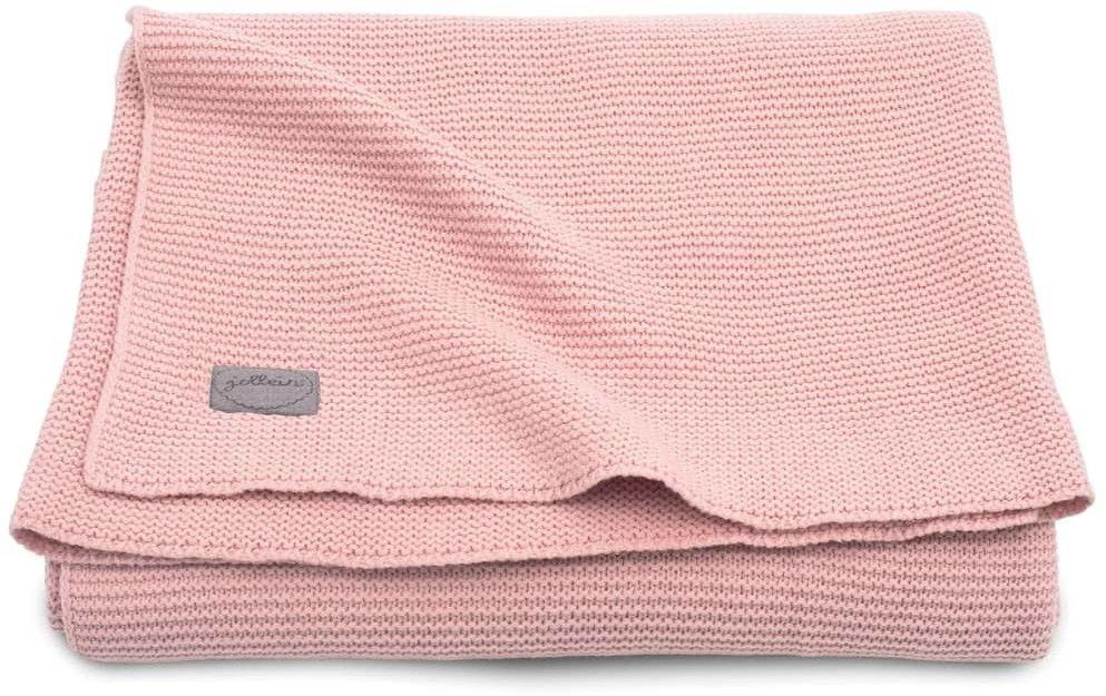 Jollein - Kocyk Tkany 75 x 100 cm Basic Blush