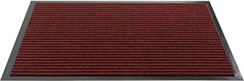 HMT 5330014060 wycieraczka z polipropylenu, kolor czerwony, 60 cm x 40 cm x 0,8 cm