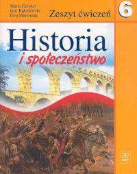 Historia i społeczeństwo klasa 6 Zeszyt ćwiczeń