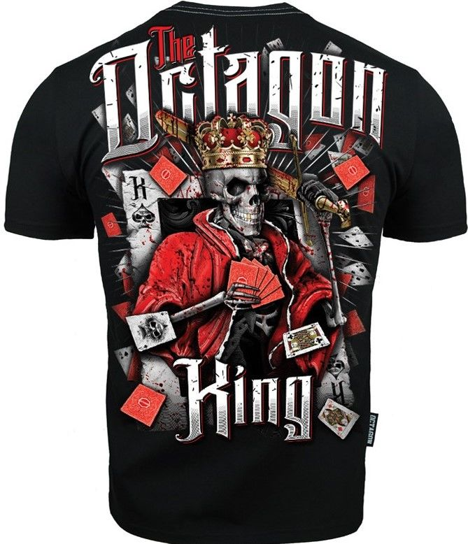 T-SHIRT KOSZULKA OCTAGON KING BLACK