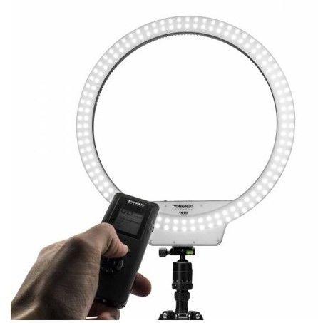 Lampa pierścieniowa LED Yongnuo YN308 - WB (5500 K)