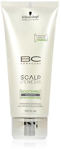 Schwarzkopf BC Scalp Genesis Soothing Szampon do suchej i wrażliwej skóry głowy 200 ml