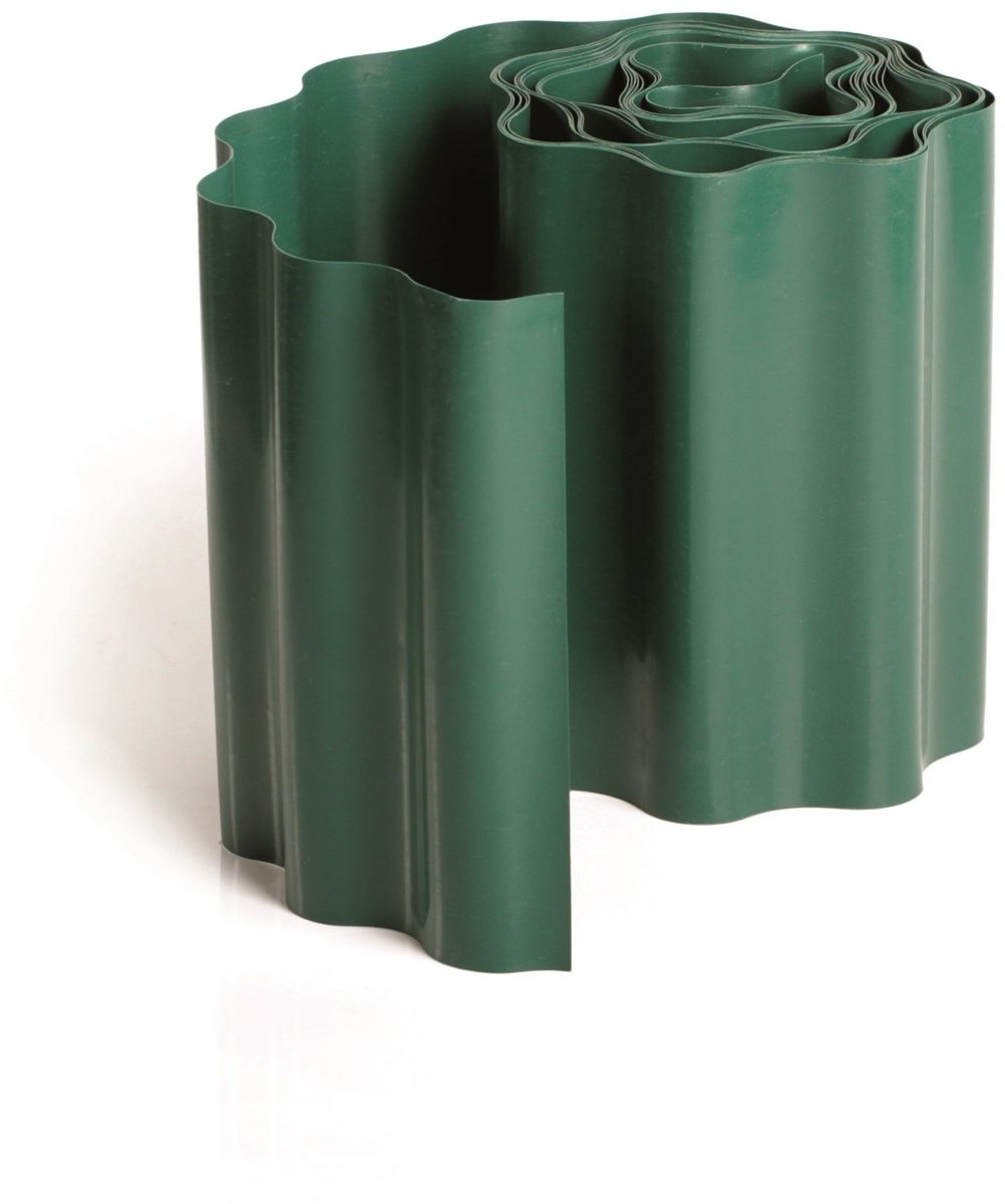 Krawężnik ogrodowy zielony 15 cm x 9 m