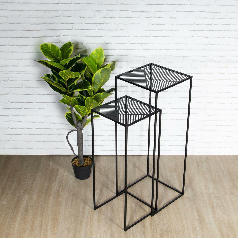 Zestaw stolików INTESI RIGA czarny