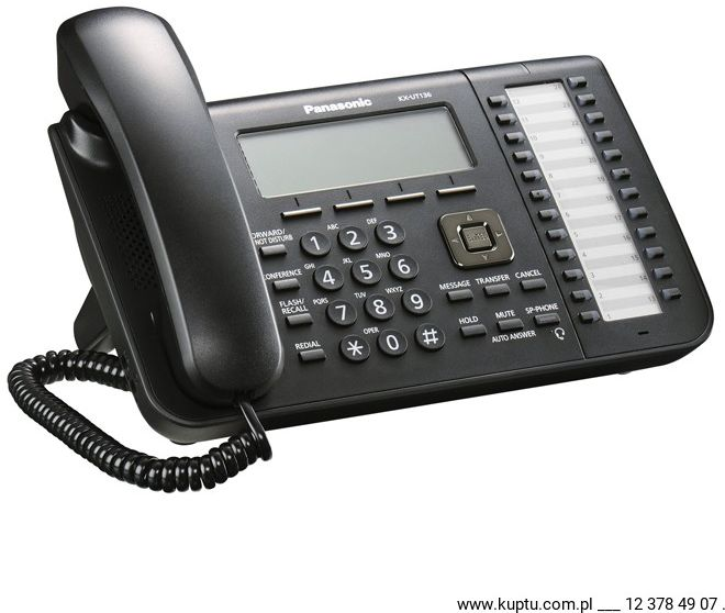 KX-UT136 Telefon biurowy SIP 24 klawisze funkcyjne UŻYWANY